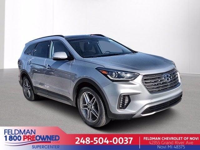 2017 Hyundai Santa Fe Limited Ultimate In Lansing Mi Lansing Hyundai Santa Fe Feldman Chevrolet Of Lansing